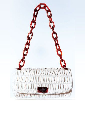 Product, Red, White, Line, Pattern, Maroon, Bag, Chain, Shoulder bag, Coquelicot,