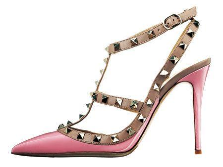 Footwear, Brown, Product, High heels, White, Sandal, Pink, Tan, Fashion, Black,