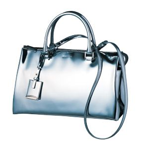 Product, White, Style, Bag, Font, Grey, Aqua, Metal, Snapshot, Shoulder bag,