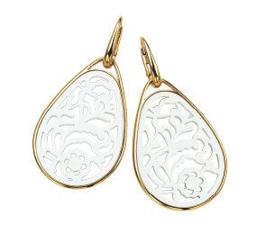 Natural material, Metal, Earrings, Pendant, Silver, Oval, Body jewelry, Chemical substance, Feather,