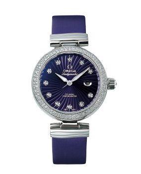Product, Blue, Watch, Analog watch, Glass, Photograph, Fashion accessory, Font, Watch accessory, Purple,