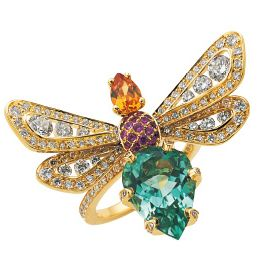 Invertebrate, Yellow, Insect, Pollinator, Arthropod, Wing, Amber, Brooch, Teal, Butterfly,