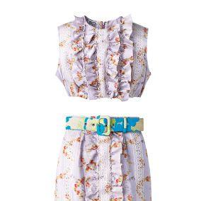 Blue, Product, Textile, White, Pattern, Collar, Style, Fashion, Aqua, Teal,