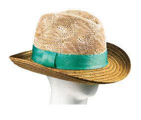 Hat, Brown, Fashion accessory, Line, Headgear, Costume accessory, Tan, Costume hat, Costume, Sun hat,