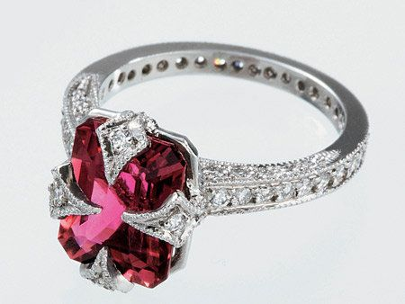 Jewellery, Photograph, Red, Fashion accessory, Natural material, Metal, Body jewelry, Pre-engagement ring, Fashion, Magenta,
