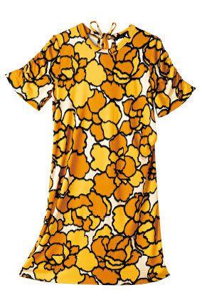 Yellow, Orange, Sleeve, Pattern, Amber, Baby & toddler clothing, One-piece garment, Day dress, Peach, Design,