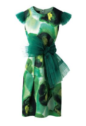 Green, Teal, Aqua, Turquoise, Costume design, Costume accessory, One-piece garment, Day dress, Fashion design, Satin,