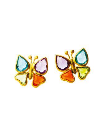 Eyewear, Vision care, Yellow, Amber, Orange, Eye glass accessory, Aqua, Art, Teal, Earrings,