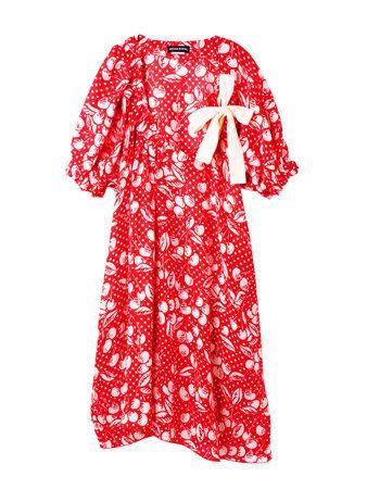 Sleeve, Textile, Collar, Red, Pattern, Carmine, Baby & toddler clothing, Symbol, Pattern, Nightwear,