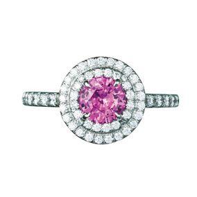 Jewellery, Pink, Magenta, Fashion accessory, Body jewelry, Gemstone, Mineral, Diamond, Circle, Metal,