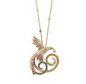 Chain, Beige, Pendant, Metal, Circle, Spiral, Body jewelry, Craft,