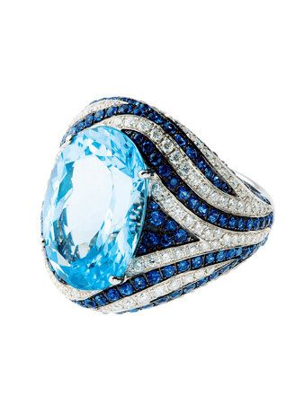 Blue, Jewellery, Azure, Electric blue, Ring, Body jewelry, Natural material, Gemstone, Diamond, Silver,