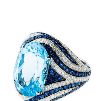 Blue, Jewellery, Fashion accessory, Azure, Electric blue, Body jewelry, Ring, Diamond, Natural material, Teal,