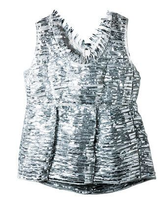 Sleeve, Textile, Dress, White, Pattern, Style, One-piece garment, Day dress, Grey, Fashion design,