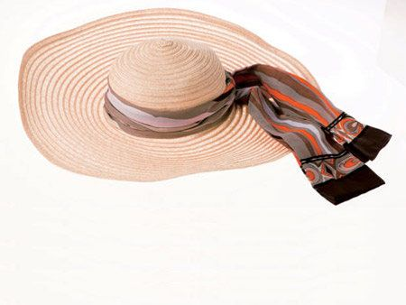 Brown, Hat, Headgear, Beige, Costume accessory, Sun hat, Circle, Peach, Fedora, Sombrero,