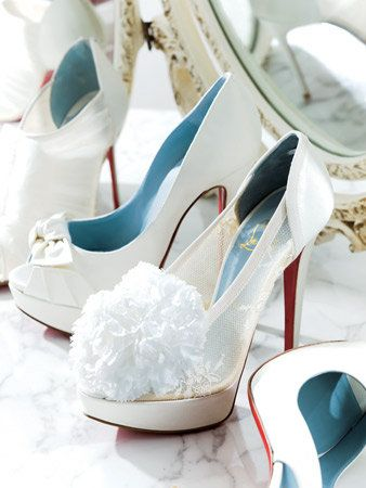 Footwear, Blue, Product, Shoe, Photograph, White, High heels, Pink, Sandal, Basic pump,