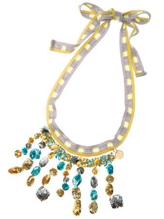 Yellow, Jewellery, Fashion accessory, Amber, Natural material, Aqua, Body jewelry, Teal, Fashion, Turquoise,