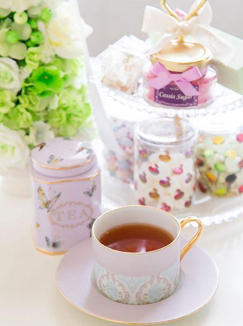 Serveware, Dishware, Drinkware, Drink, Tea, Cuisine, Teacup, Ingredient, Cup, Lavender,