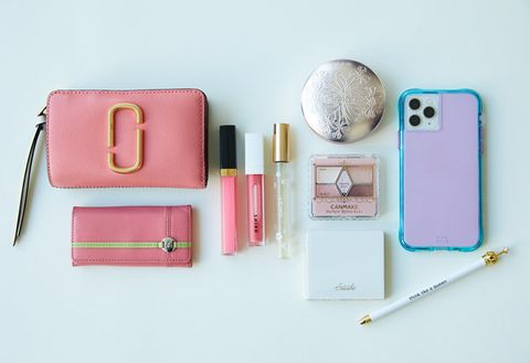 Pink, Product, Wallet, Mobile phone case, Fashion accessory, Material property, Leather, Handbag, Pencil case, Mobile phone accessories,