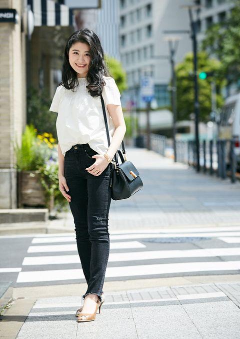Clothing, White, Street fashion, Photograph, Black, Snapshot, Fashion, Black-and-white, Waist, Footwear,