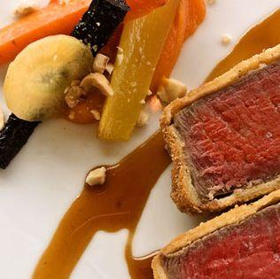 Dish, Cuisine, Food, Ingredient, Boeuf à la mode, Meat, Produce, Beef, Meatloaf, Beef tenderloin,