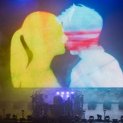 Light, Sky, Performance, Graphics, Love, Illustration, Stage,