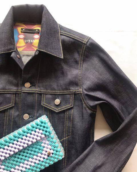 Denim, Clothing, Jeans, Collar, Pocket, Sleeve, Textile, Outerwear, Jacket, Dress shirt,