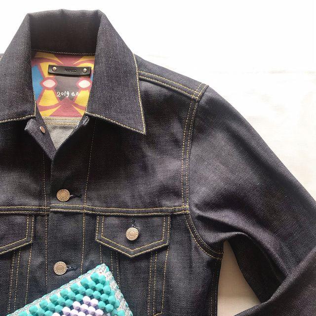 Denim, Clothing, Jeans, Collar, Pocket, Sleeve, Textile, Outerwear, Dress shirt, Jacket,