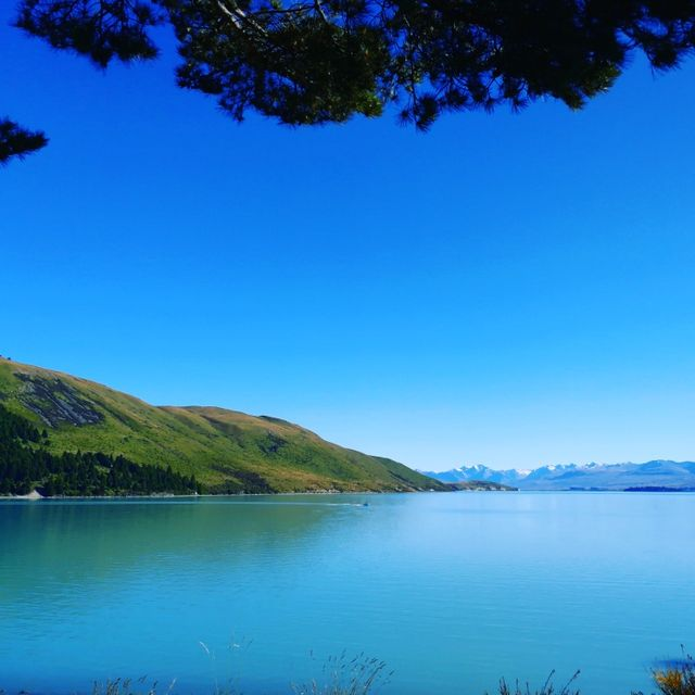 Body of water, Sky, Nature, Blue, Water, Natural landscape, Lake, Water resources, Lake district, Loch,