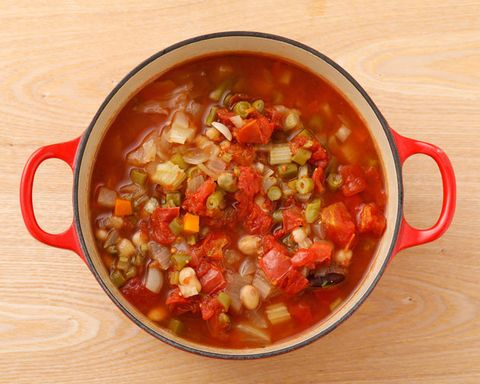 Dish, Food, Cuisine, Minestrone, Ingredient, Soup, Produce, Vegetarian food, Pozole, Recipe,