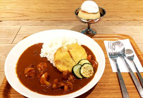 Dish, Food, Cuisine, Japanese curry, Hayashi rice, Curry, Ingredient, Rice and curry, Gravy, Produce,