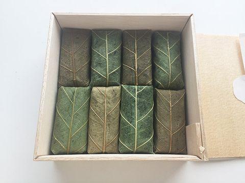 Green, Box, Rectangle, Tray,