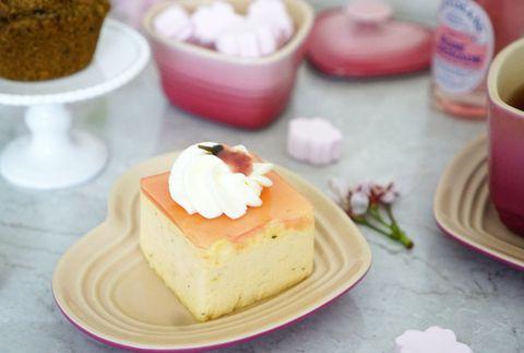 Dish, Food, Cuisine, Dessert, Ingredient, Baked goods, Frozen dessert, Tres leches cake, Recipe, Semifreddo,