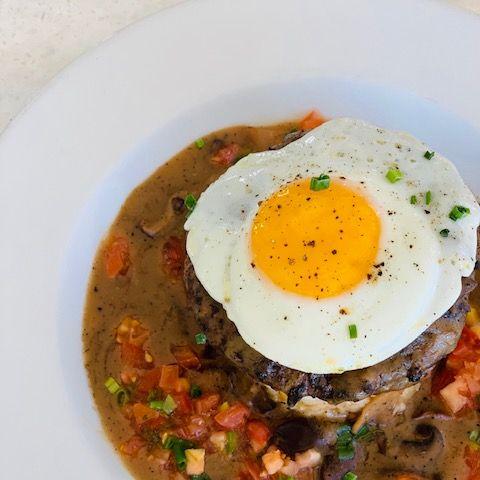 Dish, Food, Cuisine, Ingredient, Poached egg, Produce, Recipe, Breakfast, Huevos rancheros, Meat,