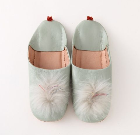 Footwear, Shoe, Pink, Product, Ballet flat, Slipper, Beige,