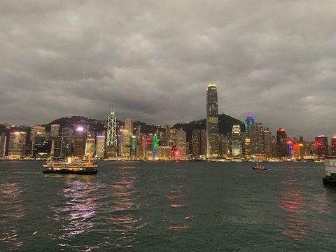 Sky, City, Skyline, Cityscape, Metropolitan area, Metropolis, Skyscraper, Night, Urban area, Human settlement,