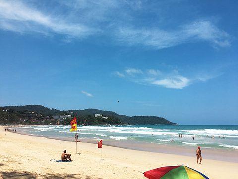 Beach, Sky, Body of water, Sea, Cloud, Ocean, Sand, Coast, Vacation, Shore,