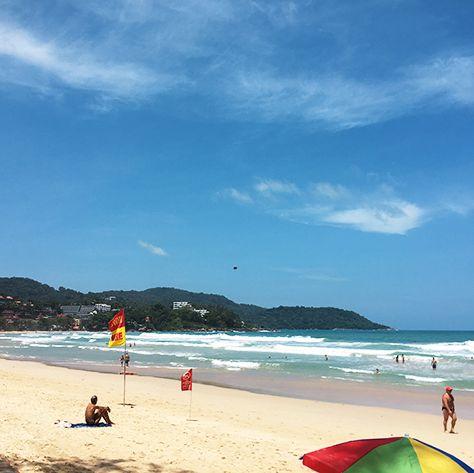 Beach, Body of water, Sky, Sea, Ocean, Sand, Coast, Cloud, Shore, Vacation,