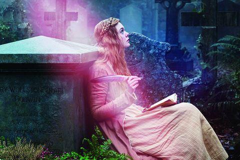 Pink, Green, Purple, Light, Beauty, Sunlight, Dress, Tree, Grass, Atmosphere,