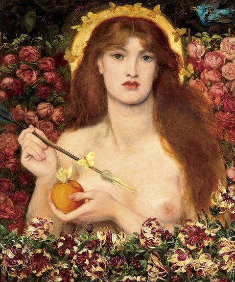 Painting, Beauty, Art, Portrait, Plant, Apple, Still life, Visual arts, Fictional character, Rose family,