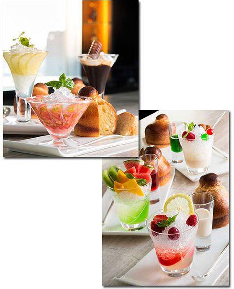 Food, Drink, Ingredient, Tableware, Produce, Cocktail garnish, Cocktail, Garnish, Peach, Cuisine,