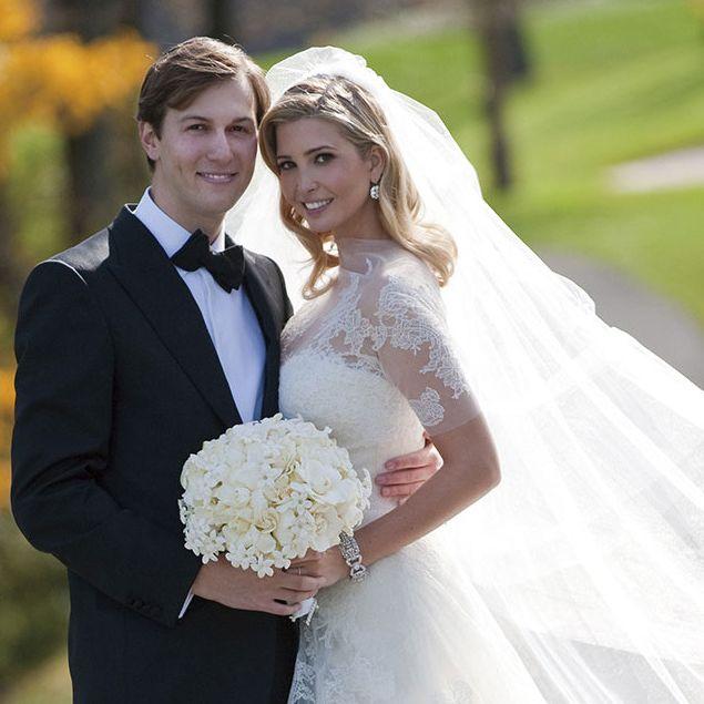 Clothing, Dress, Trousers, Coat, Bridal clothing, Photograph, Bridal veil, Wedding dress, Outerwear, Veil,