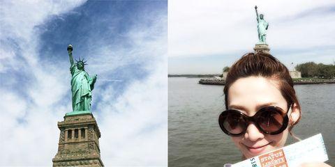 Landmark, Eyewear, Head, Statue, Sky, Tourism, Photography, Monument, Selfie, Travel,