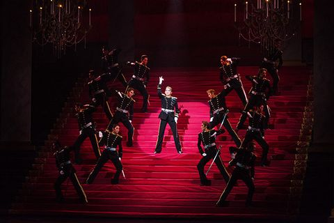 Performance, Entertainment, Performing arts, Stage, Red, Performance art, Dance, Event, Musical theatre, heater,