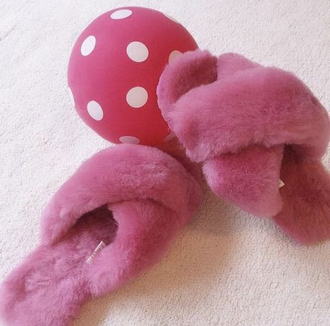 Pink, Stuffed toy, Plush, Toy, Baby toys, Design, Textile, Pattern, Dog toy, Polka dot,
