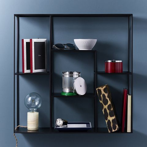 Shelf, Shelving, Display case, Furniture, Wall, Room, Bookcase, Material property, Interior design, Cupboard,