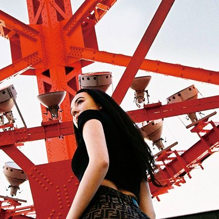 Red, Orange, Beauty, Fashion, Headgear, Wheel, Photography, Photo shoot, Model, Style,