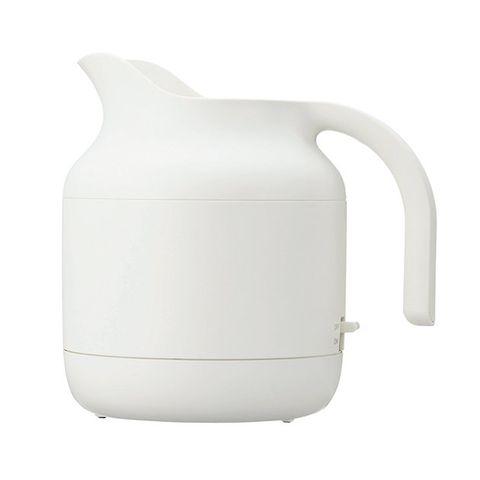 White, Kettle, Jug, Pitcher, Serveware, Product, Tableware, Drinkware, Teapot, Vacuum flask,