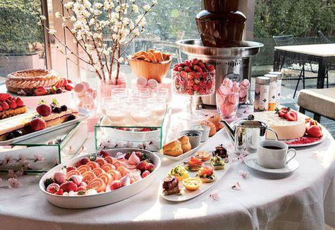 Meal, Food, Brunch, Cuisine, Dish, Buffet, Dessert, Finger food, Sweetness, Breakfast,