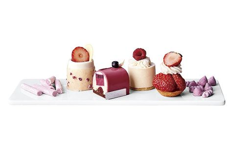 Product, Pink, Cosmetics, Petit four, Salt and pepper shakers, Playset, Tableware, Nail care, Food, Nail,